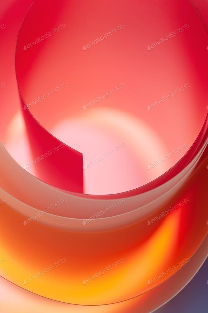 Fondo surrealista de Elementos multicolores con un degradado