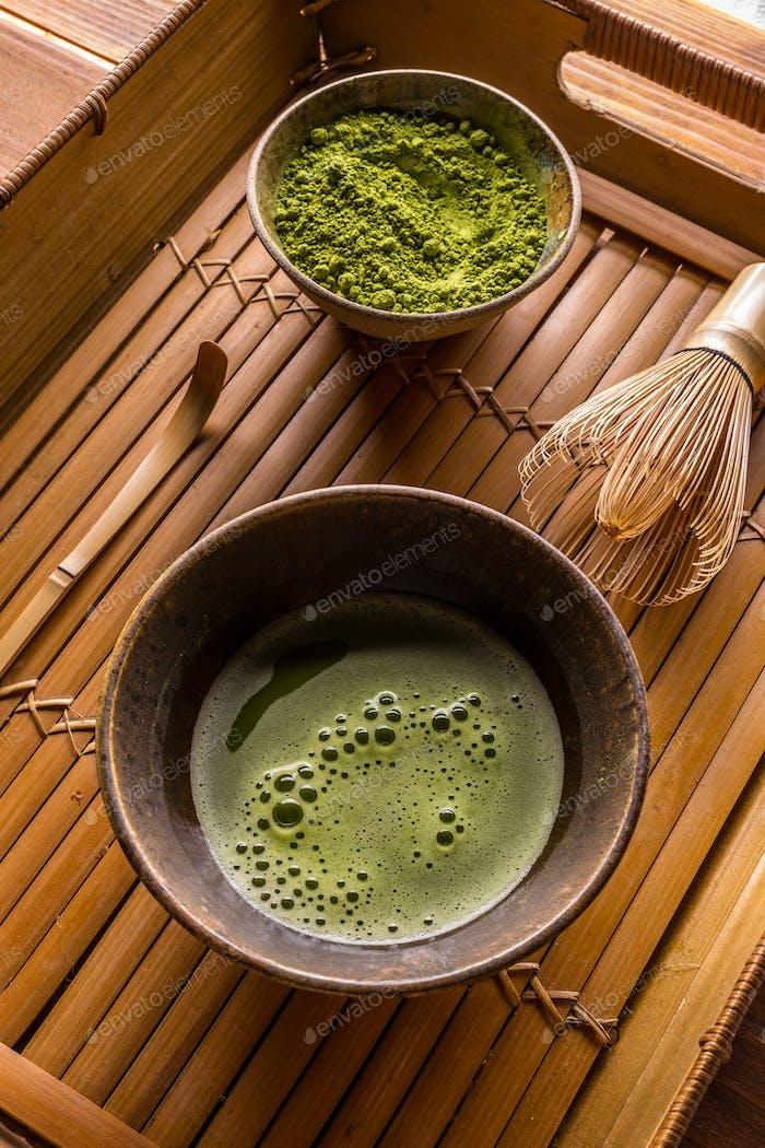 Thumbnail for Green tea matcha