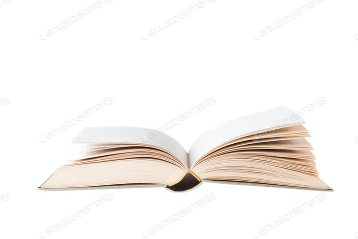 Blanc Book Openned