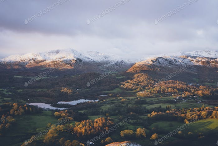 Loughrigg Fell in the English Lake District, United Kingdom