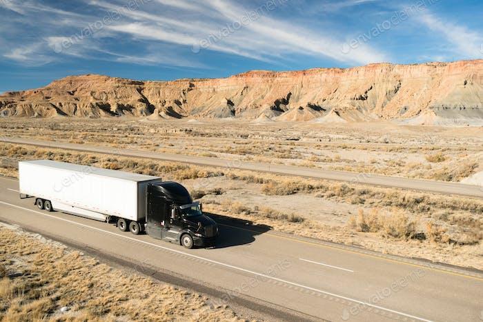 Over The Road Transportation 18 Wheeler Big Rig Semi Truck