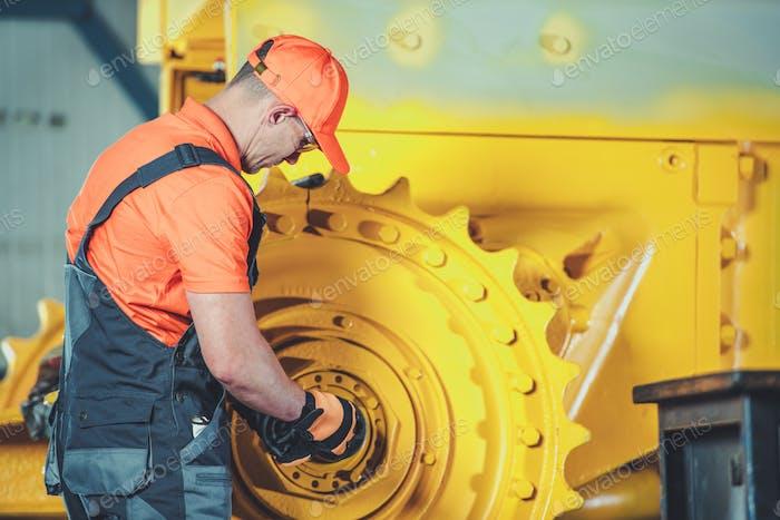 Bulldozer Rebuild Operation