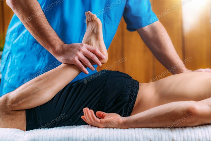 Legs Sports Massage Physical Therapy