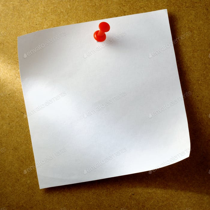 white sheet of paper