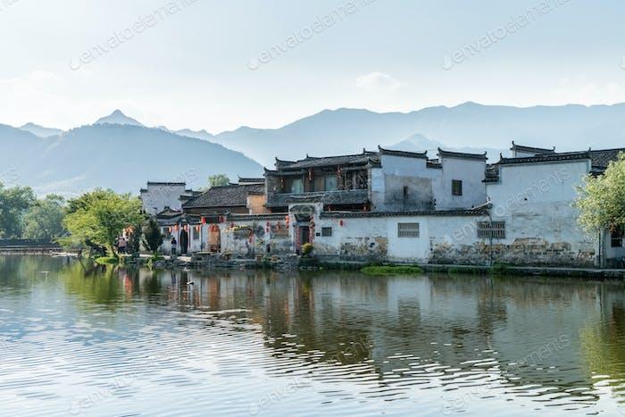 china ancient villages landscape