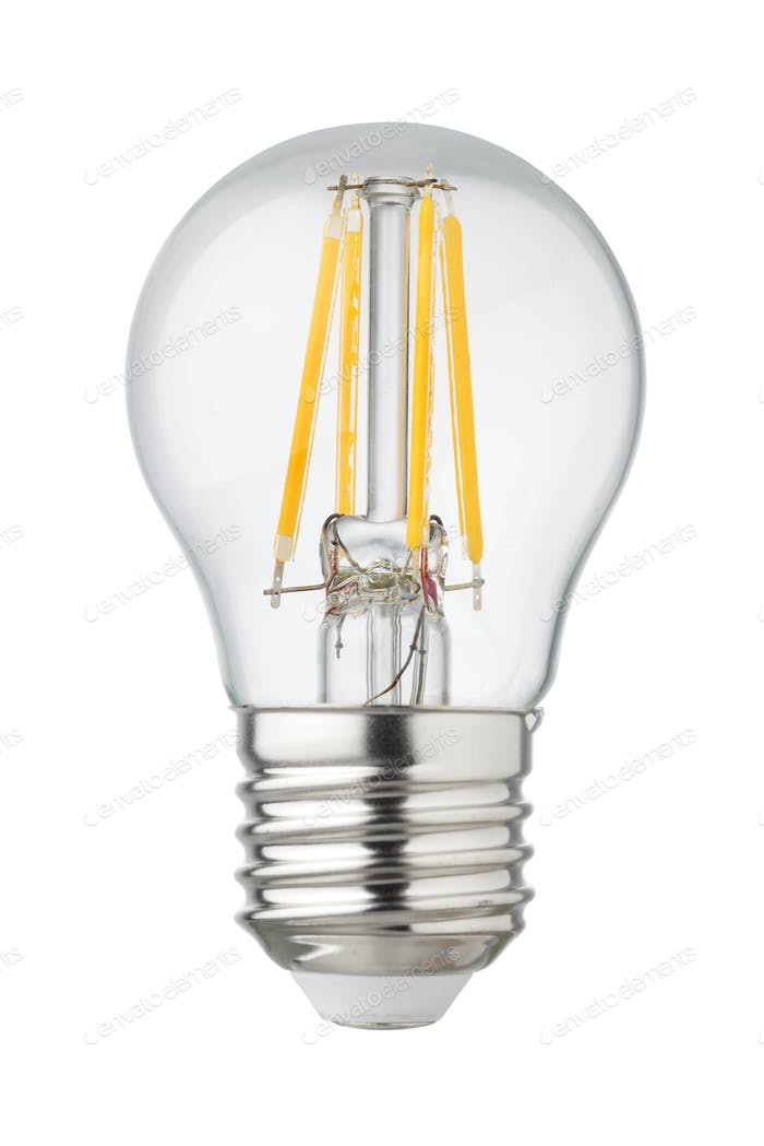 LED filament isolated