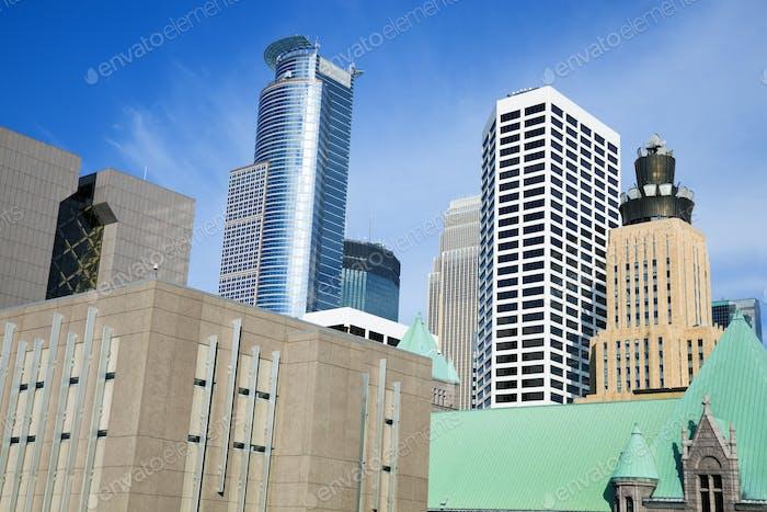 Wolkenkratzer in Minneapolis