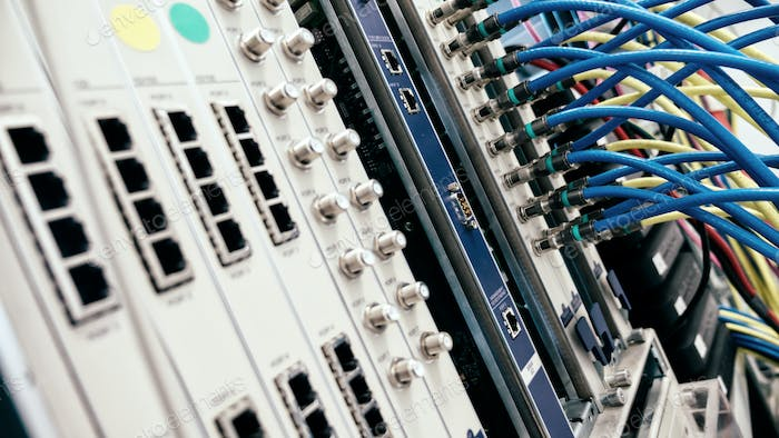 Networking hardware used by isps