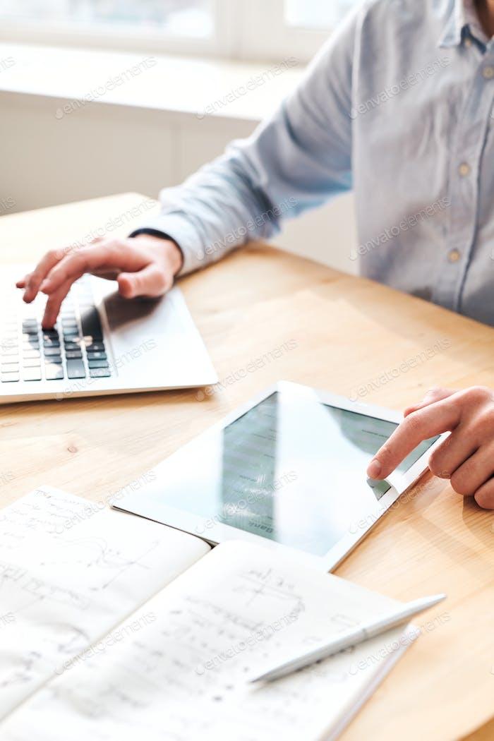 Examining online data