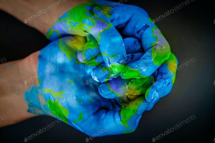 Vamos a salvar el planeta Tierra.