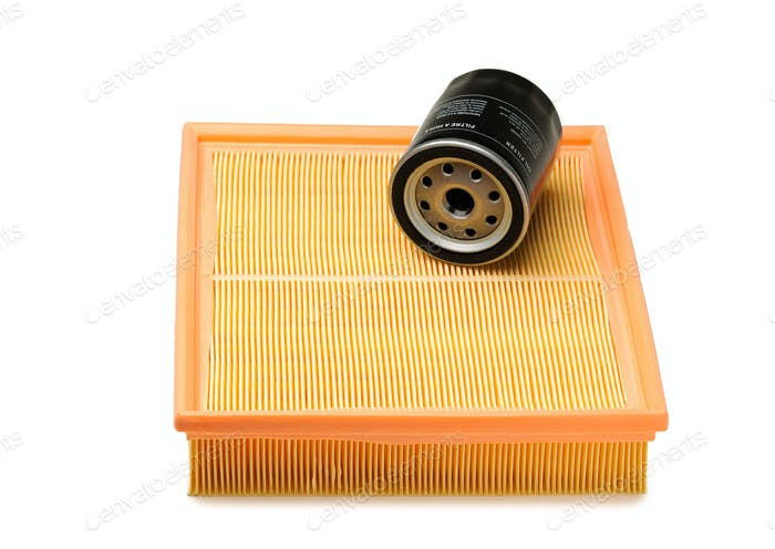 Air and oil filter