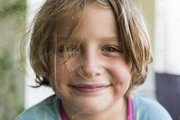 portrait of 5 year old boy