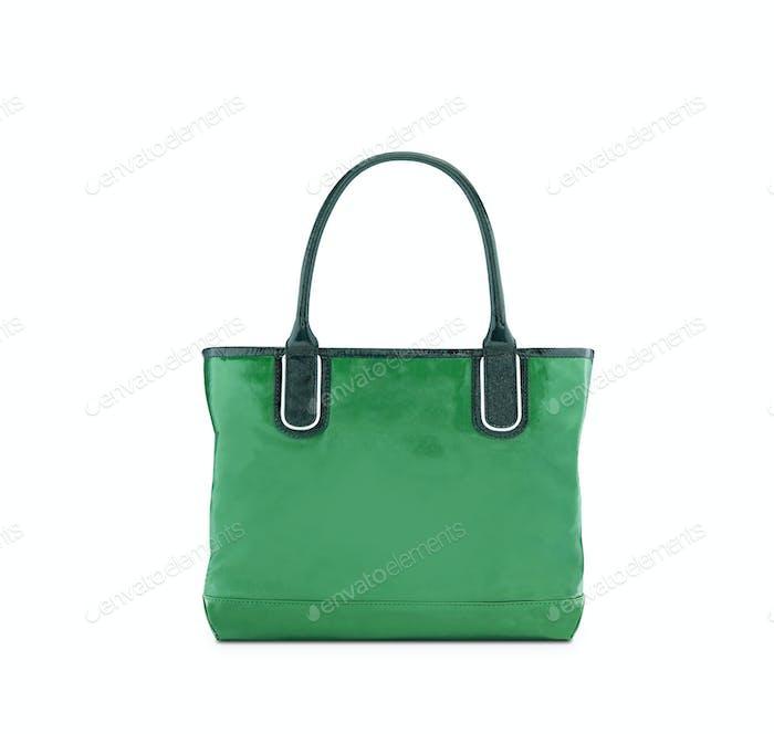 Grüne, wiederverwendbare Einkaufstasche