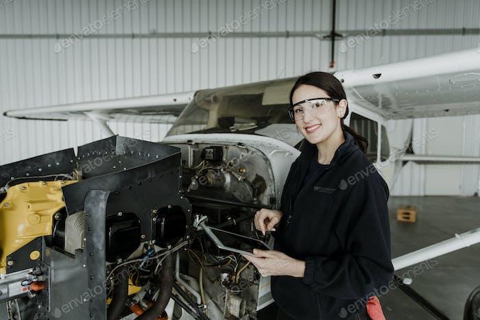 Flugtechniker-Karriere