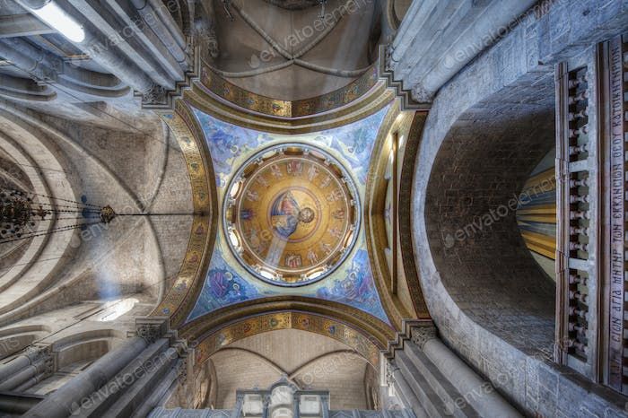 Ceiling of the Catholicon