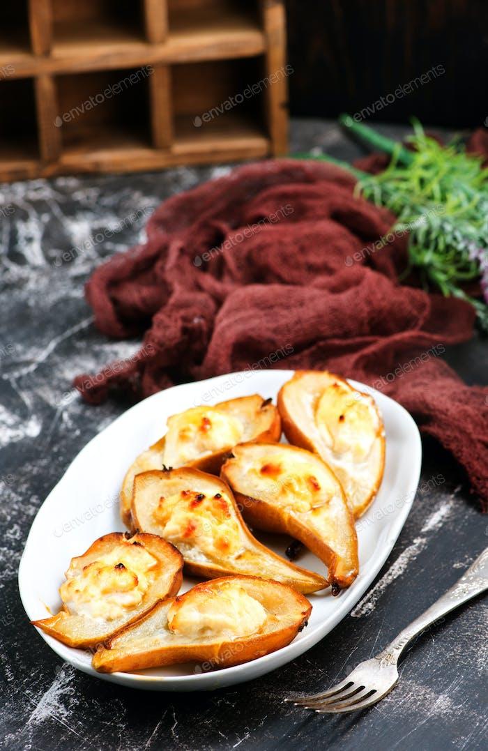 gebackene Birnen