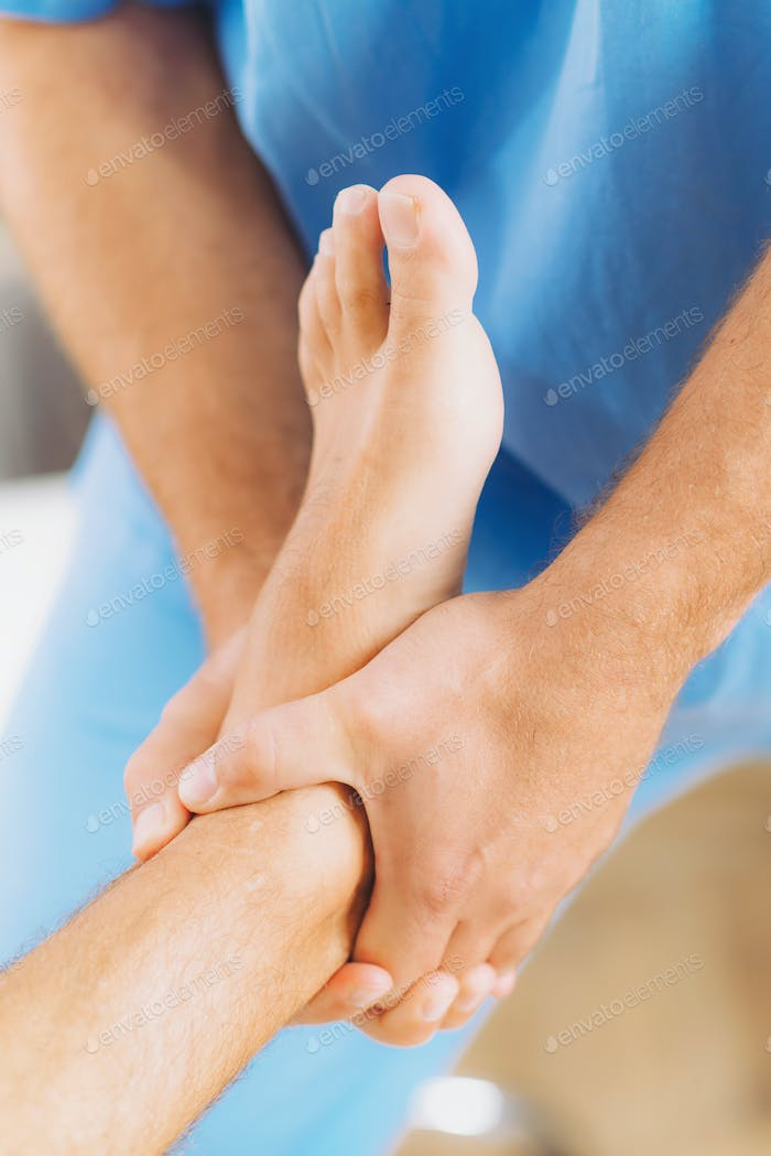Chiropractic Foot Adjustment