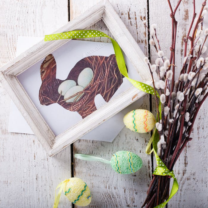 Traditional easter decoration