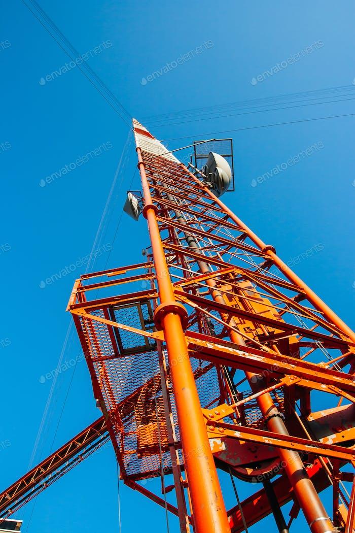 KVLY-TV TV Mast Antenna in USA
