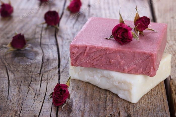 Natürliche handgemachte Seife