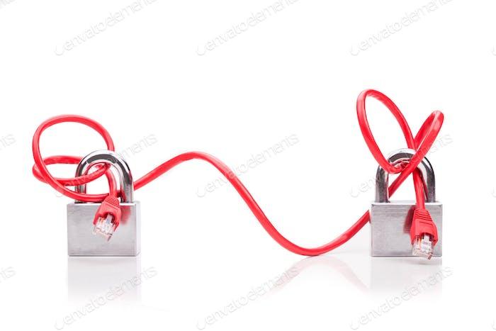 Konzeptbasierte Computernetzwerksicherheit mit End-to-End-Kabel-padlo