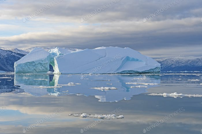 Calm Reflections in the Arctic