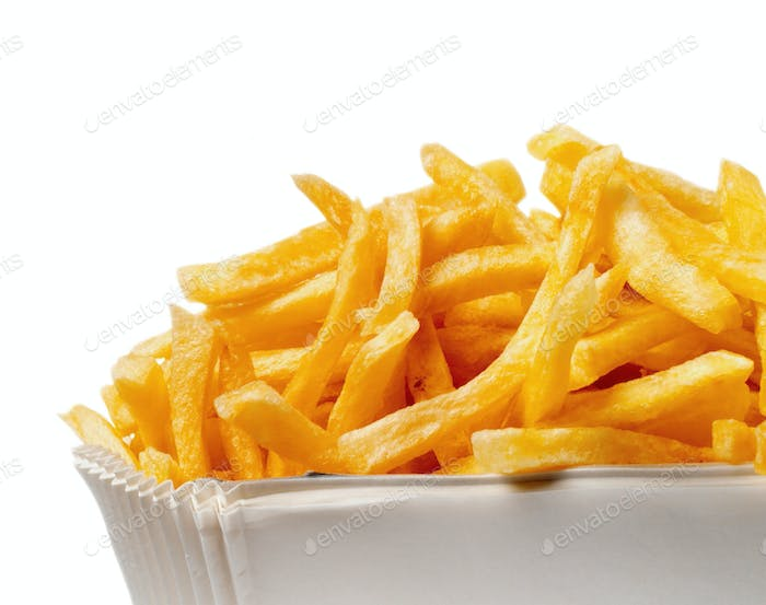 Serving of French fries