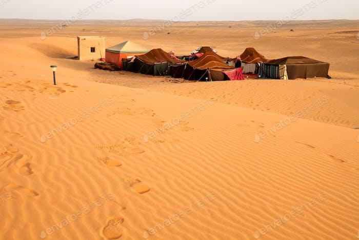 Beduinen Wüstenlager