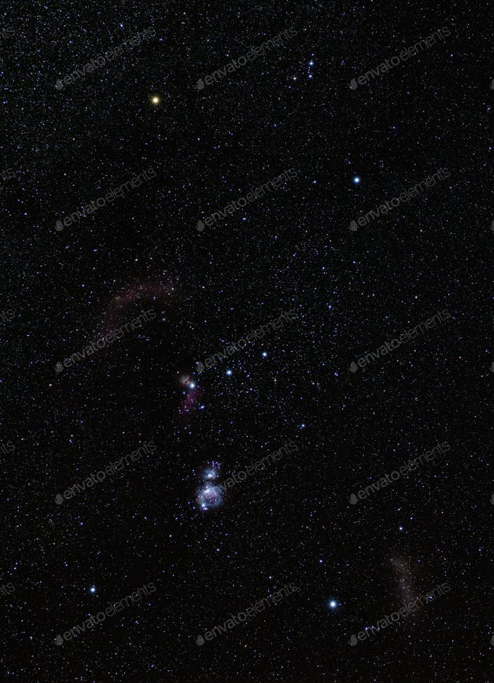 Orion Constellation Nebula M42