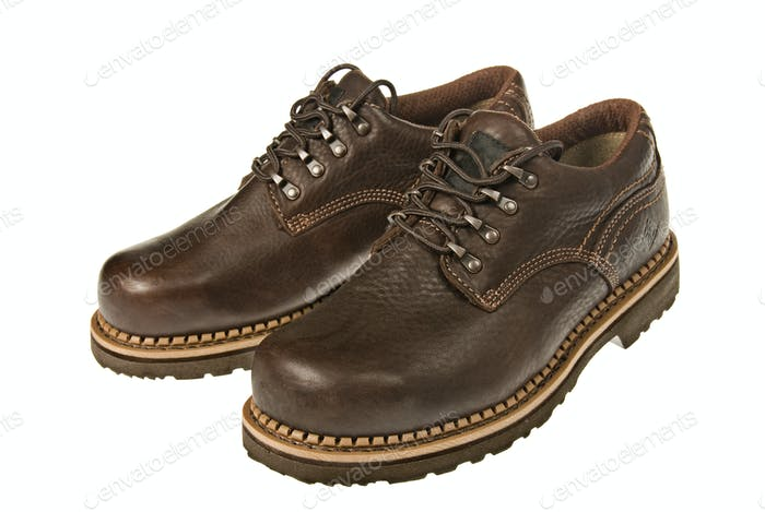 Steel toed shoes