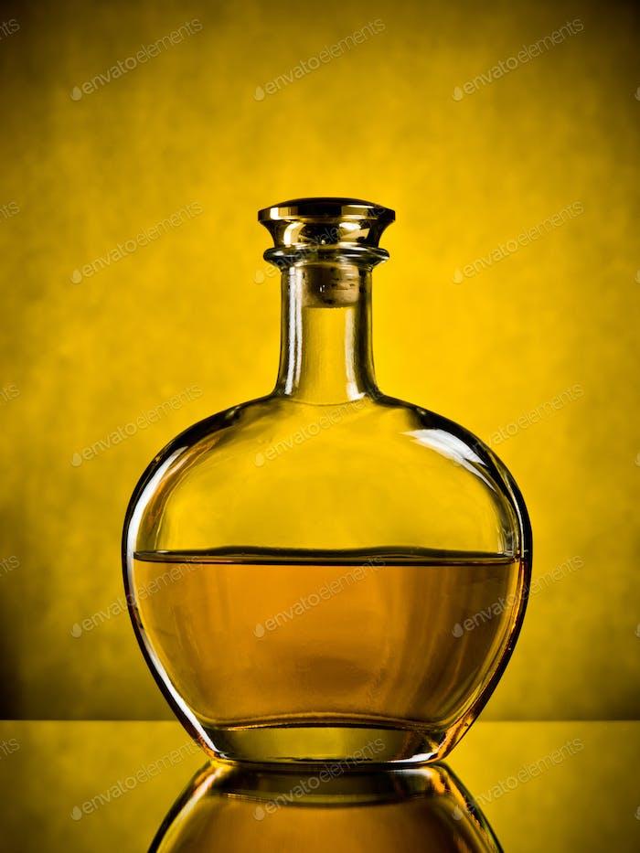 Bottle of cognac