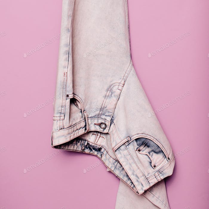 Stylish clothes. Jeans Denim. Minimal fashion. Wardrobe Trends I