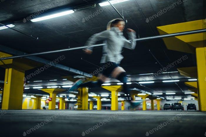 Sportler in Bewegung