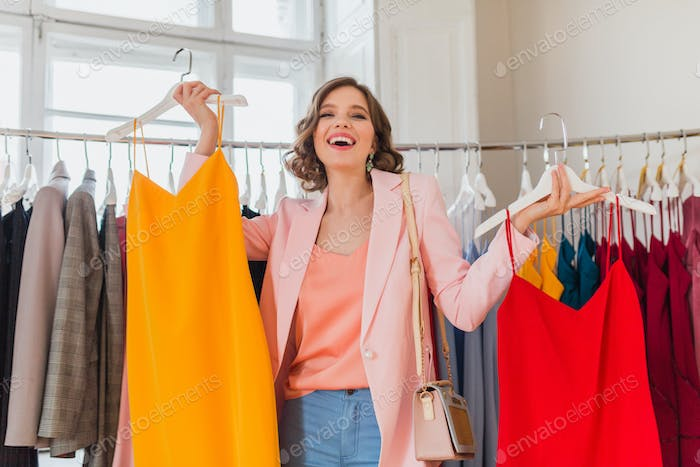 pretty woman style sale in clothing store