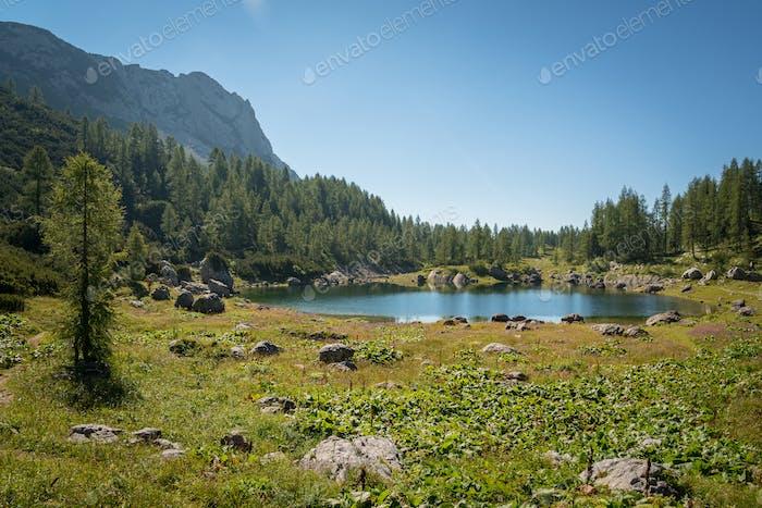 Schönes Tal der sieben Seen im Triglav Nationalpark