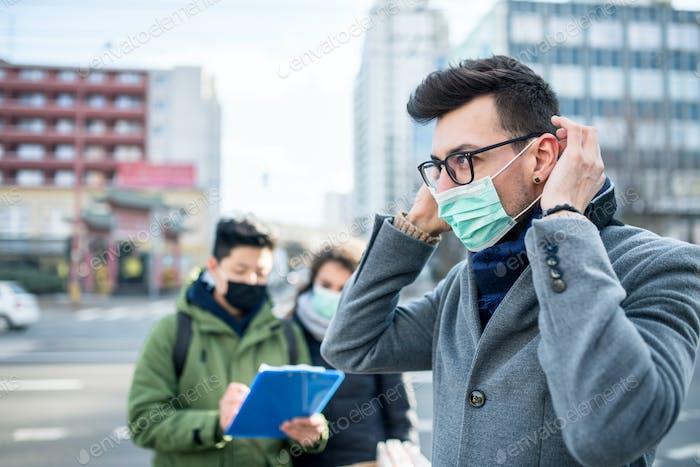 Coronavirus in der Stadt, Präventions- und Schutzkonzept