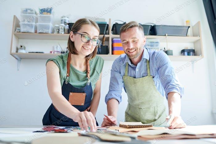 Teamwork in workshop