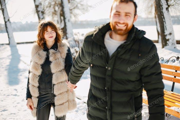 Sunny couple