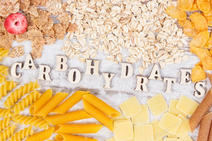 Natürliche Inhaltsstoffe und Produkte als Quelle Kohlenhydrate, Vitamine, Mineralstoffe und Ballaststoffe