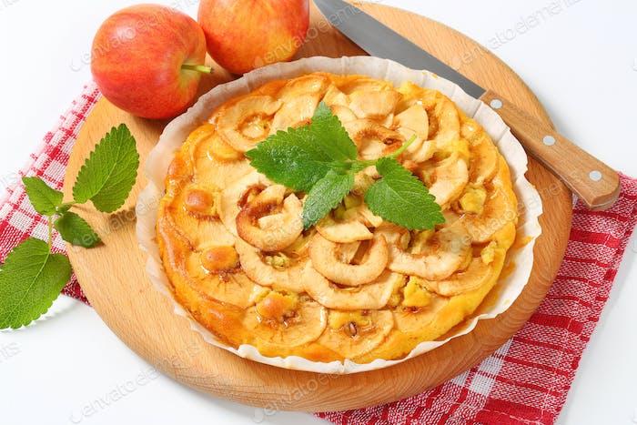 homemade apple tart
