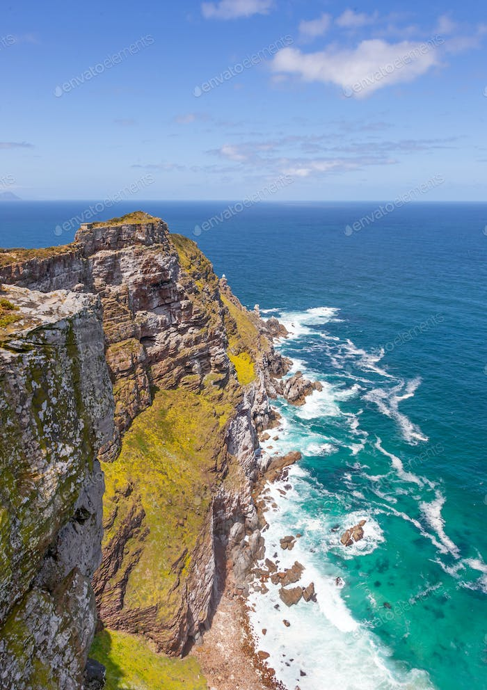 Cape Point in the Table Mountain National Park