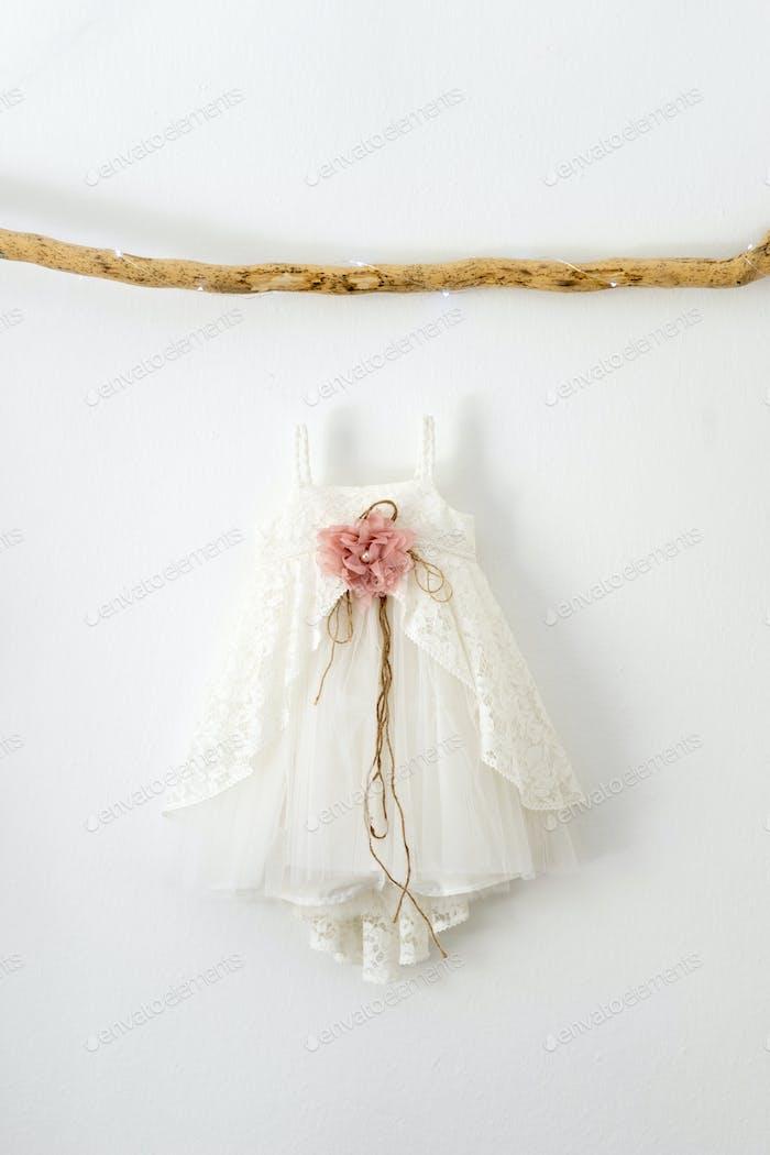 Christening baby dress