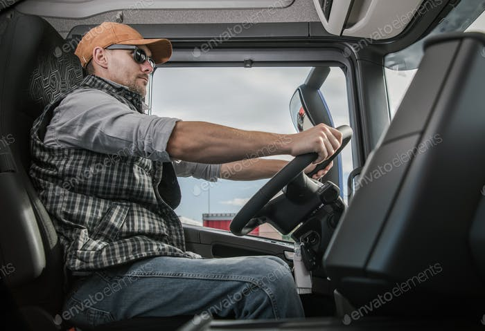 Trucker on the Route