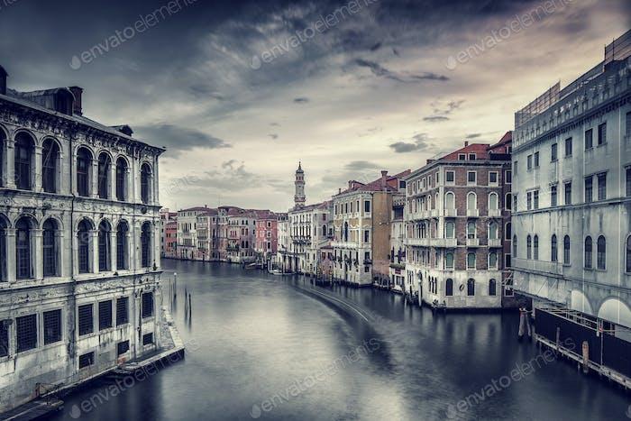 Schönes Stadtbild von Venedig