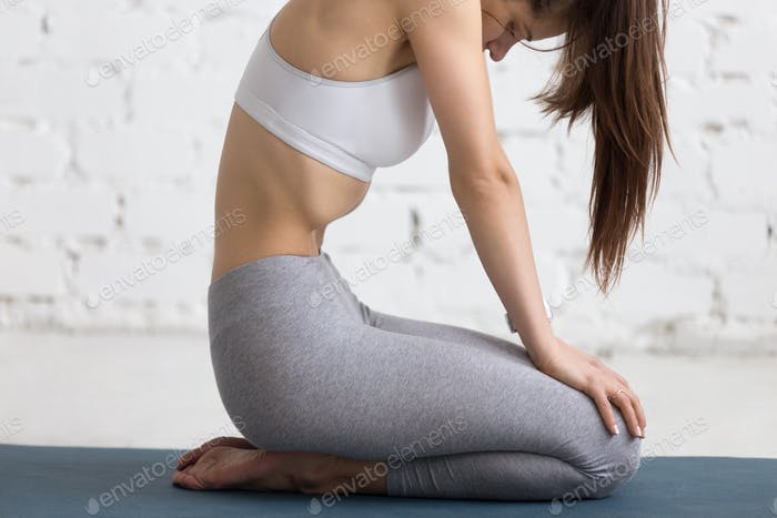 Yoga Indoors: Upward Abdominal Lock