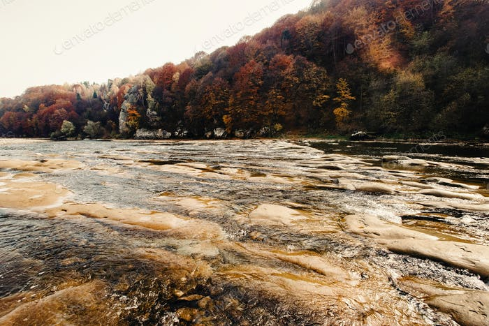 breathtaking landscapes  in ukrainian mountains, national park