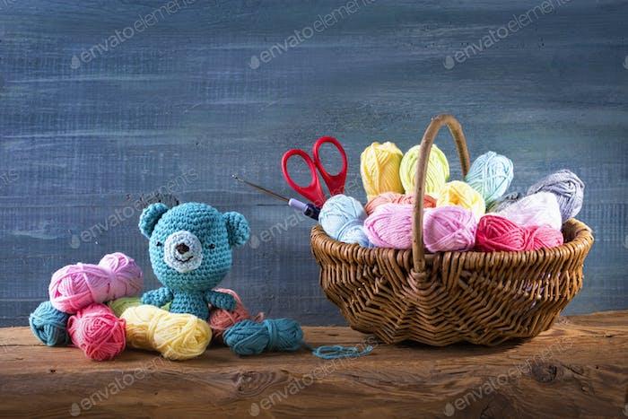 Amigurumi toys