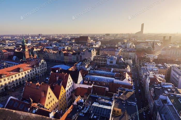 Centro histórico de Breslavia
