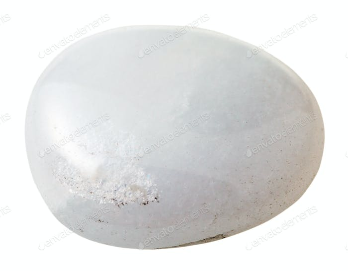 specimen of milky (snow, white) quartz gemstone