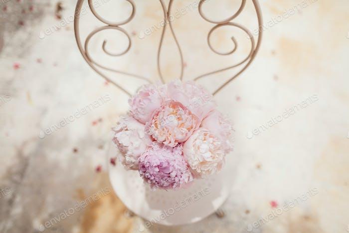 Hochzeit Blumenstrauß Fine Art Stil